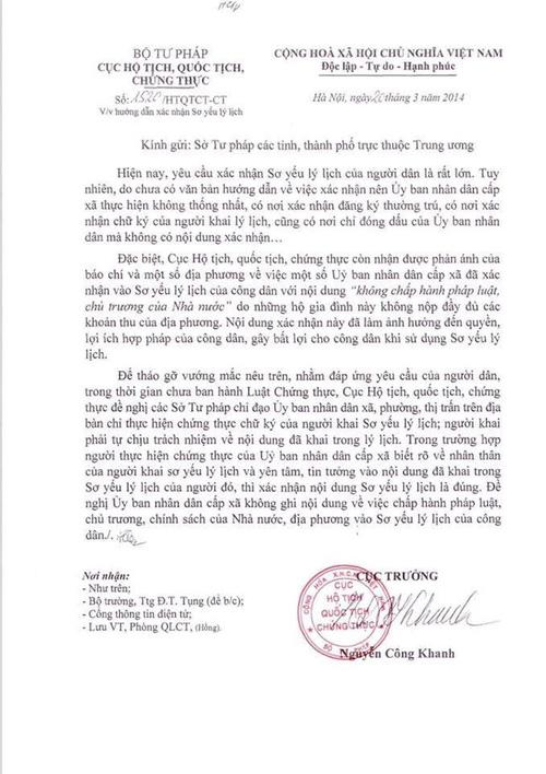 Phó chủ tịch xã nhận sai khi phê bình cả nhà nữ cử nhân trong sơ yếu lý lịch - Ảnh 3.