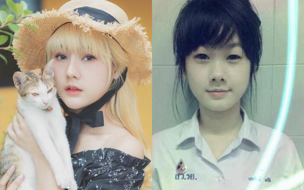 Lộ ảnh trong quá khứ, hot girl má phính nổi tiếng Thái Lan bị nghi đã PTTM - Ảnh 4.