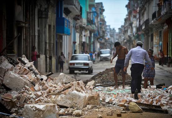 Siêu bão Irma cày nát phía Bắc Cuba, nhăm nhe tấn công Florida  - Ảnh 4.