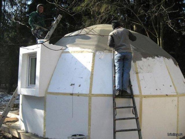 Động đất 7 độ Richter cũng chưa là gì đối với những căn nhà mái vòm chỉ nặng 80kg này - Ảnh 4.