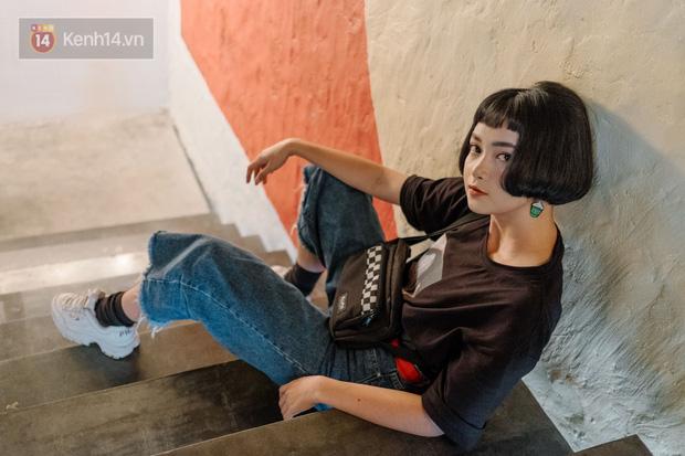Mai Kỳ Hân - nàng mẫu lookbook mới của Sài Gòn với gương mặt đúng chuẩn búp bê - Ảnh 5.