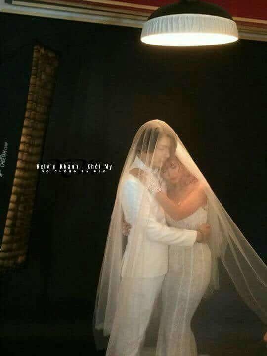 Khởi My e ấp, Kelvin Khánh để tóc dài lãng tử trong hậu trường chụp ảnh cưới - Ảnh 4.