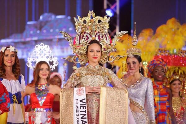 HOT: Khánh Ngân đăng quang Hoa hậu Hoàn cầu 2017 - Ảnh 4.