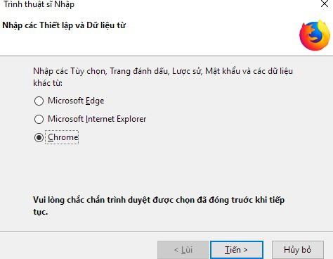 Cách chuyển tất cả dữ liệu từ Chrome sang Firefox - Ảnh 3.