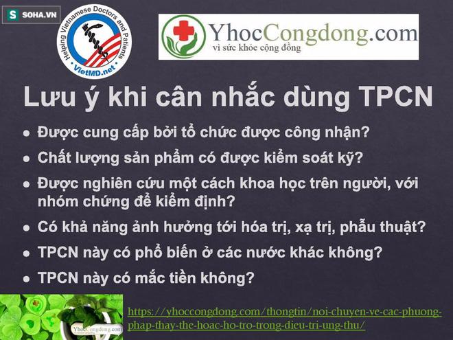 BS Việt tại Nhật bóc sự thật về TPCN trong điều trị ung thư: Tinh nghệ, Fucoidan, đông trùng hạ thảo - Ảnh 5.