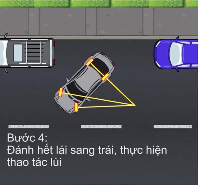 [Video] Hướng dẫn cách đỗ xe ghép ngang/ghép dọc cho tài non - Ảnh 5.
