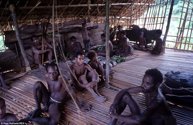 Sống trên những ngôi nhà cây cao tới 50m, bộ lạc bí ẩn khiến nhiều người khâm phục sức sống phi thường - Ảnh 5.