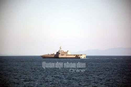 Tàu Hải quân Việt Nam tham gia diễn tập biển đa phương - Ảnh 5.
