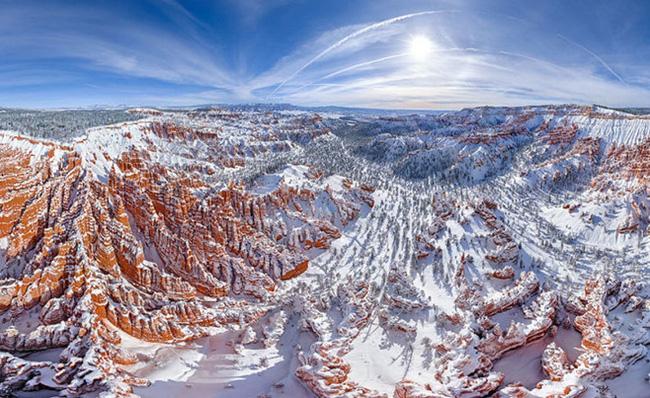 Chùm ảnh những địa danh đẹp nổi tiếng thế giới nhìn từ trên cao - Ảnh 5.