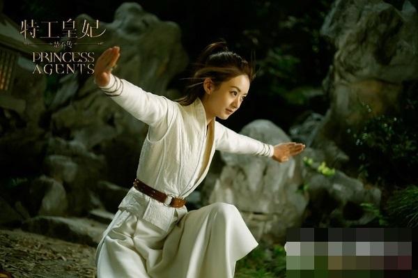 Nhan sắc xinh đẹp của ác nữ chuyên hãm hại Triệu Lệ Dĩnh trong Sở Kiều truyện - Ảnh 5.