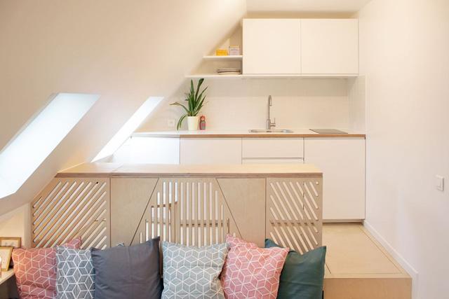 Thiết kế nội thất của căn nhà nhỏ 15m2 khiến ai cũng ao ước - Ảnh 5.