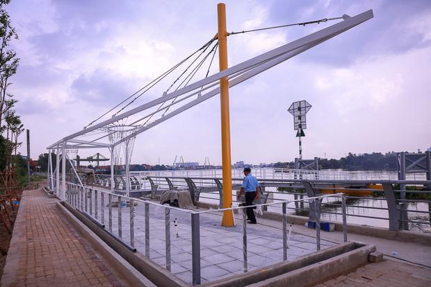 Cận cảnh bến buýt đường sông đầu tiên ở Sài Gòn sẽ hạ thủy vào tháng 9 - Ảnh 5.
