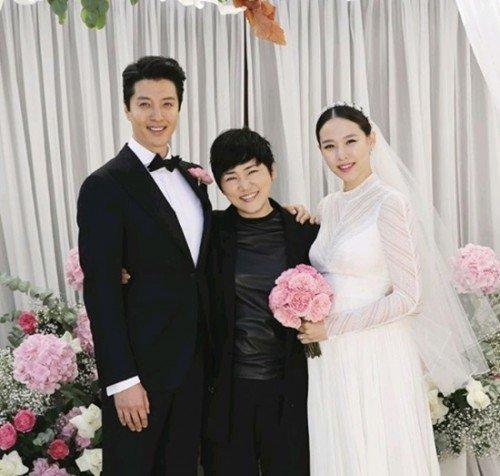 Những hình ảnh đẹp trong đám cưới bí mật của tài tử Lee Dong Gun - Ảnh 5.