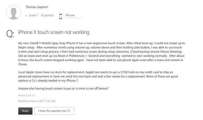 Đây là chiếc iPhone X xấu số tiếp theo tại VN: Liệt cảm ứng sau 3 ngày sử dụng! - Ảnh 5.