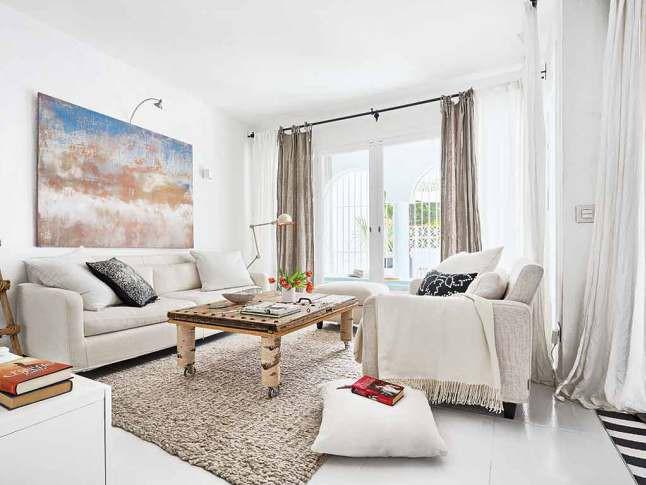 10 phòng khách nhỏ nhưng đẹp và vô cùng ấm cúng khiến bạn yêu từ cái nhìn đầu tiên - Ảnh 6.