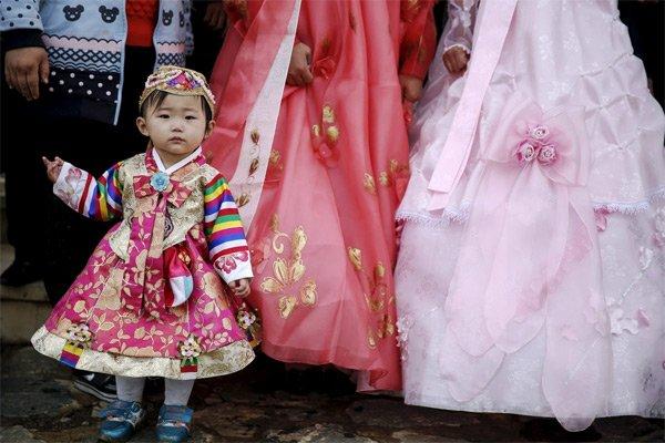 Hình ảnh hiếm về tuổi thơ của trẻ em Triều Tiên - Ảnh 6.