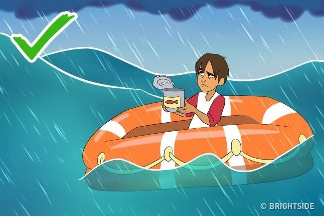 Làm gì để sống sót nếu đột nhiên bạn ở một mình giữa biển khơi? - Ảnh 5.