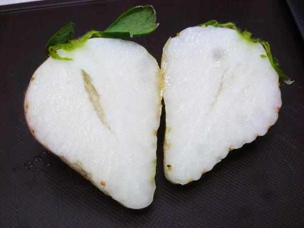 Có gì bên trong dâu tây trắng khổng lồ 200.000 đồng/quả độc nhất vô nhị tại Nhật Bản? - Ảnh 6.