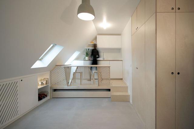 Thiết kế nội thất của căn nhà nhỏ 15m2 khiến ai cũng ao ước - Ảnh 6.