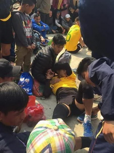 Tranh cãi khi tuyển bóng chuyền nữ Việt Nam về làng đấu đội nam - Ảnh 6.