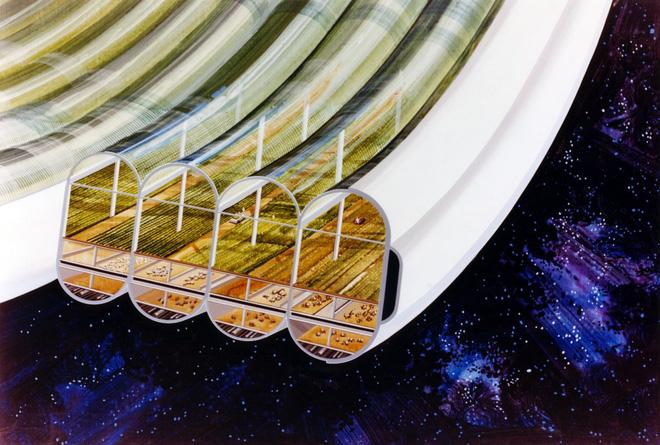 NASA đã từng có ý tưởng xây dựng thành phố ngoài vũ trụ như trong bộ phim Interstellar - Ảnh 6.