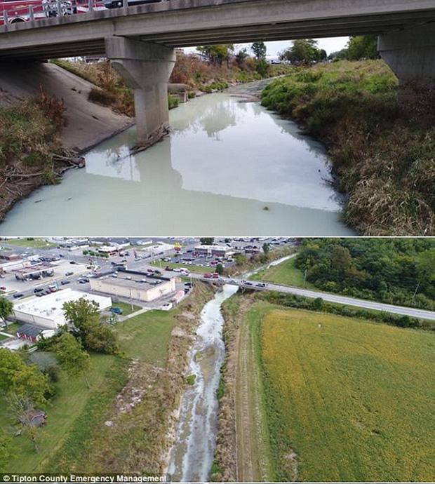 Mỹ: Dòng sông đột ngột chuyển thành màu trắng sữa khiến người dân không khỏi kinh ngạc - Ảnh 6.