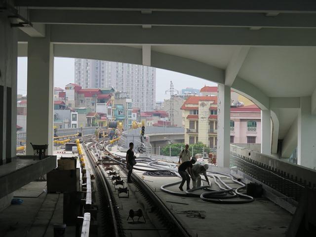 Cận cảnh thiết bị đặc thù của đường sắt Cát Linh - Hà Đông - Ảnh 5.