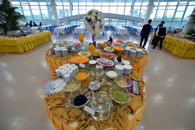 Khám phá bếp ăn phục vụ 3.000 phóng viên ở Trung tâm Báo chí APEC - Ảnh 6.