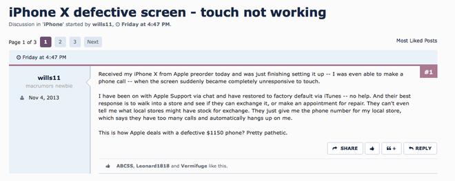 Đây là chiếc iPhone X xấu số tiếp theo tại VN: Liệt cảm ứng sau 3 ngày sử dụng! - Ảnh 6.
