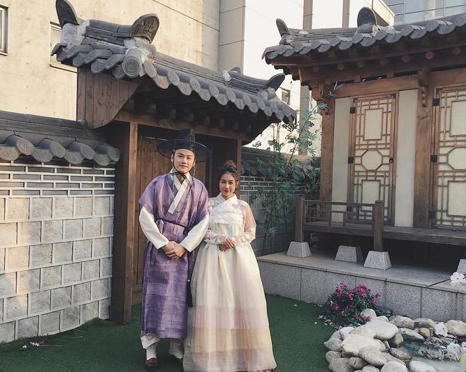 Clip kỷ niệm 2 năm ngày cưới siêu lãng mạn ở Hàn Quốc của vợ chồng Trang Lou - Ảnh 6.