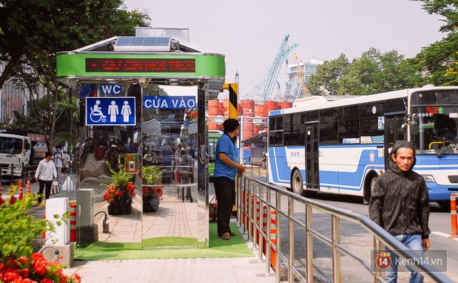 """Cận cảnh trạm xe buýt 8,5 tỷ đồng, """"sang chảnh"""" nhất trung tâm Sài Gòn và có nhà vệ sinh thông minh - Ảnh 6."""