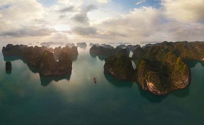 Chùm ảnh những địa danh đẹp nổi tiếng thế giới nhìn từ trên cao - Ảnh 7.