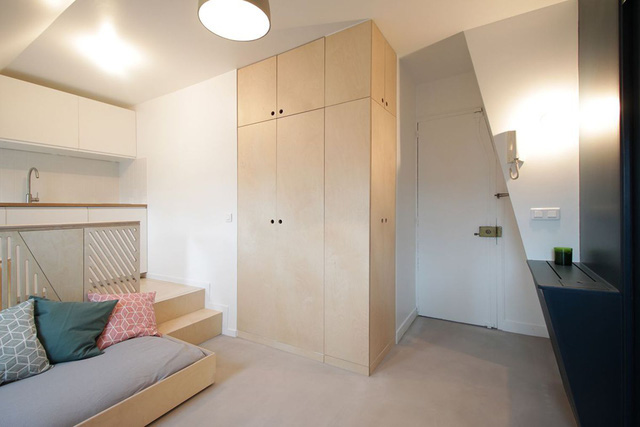 Thiết kế nội thất của căn nhà nhỏ 15m2 khiến ai cũng ao ước - Ảnh 7.
