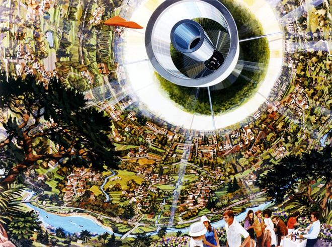 NASA đã từng có ý tưởng xây dựng thành phố ngoài vũ trụ như trong bộ phim Interstellar - Ảnh 7.