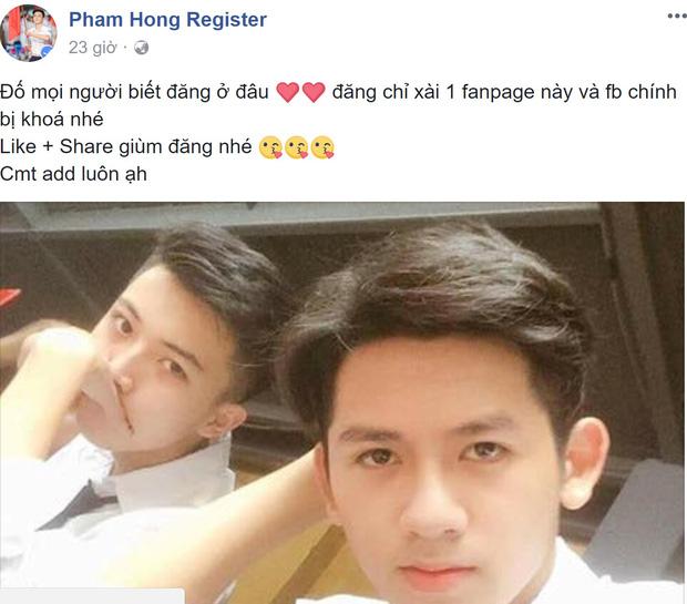 Hotboy cầm cờ trường Phan Đình Phùng lộ ảnh thời cấp 2, xuất hiện loạt tài khoản mạo danh trên Facebook - Ảnh 7.