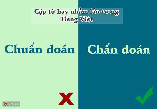 10 cặp từ ai cũng hay bị lẫn lộn trong Tiếng Việt - Ảnh 8.