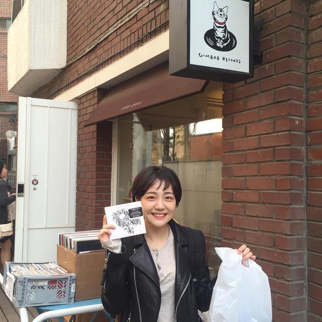 Cô bạn Hàn Quốc với nụ cười má lúm làm xiêu lòng mọi chàng trai - Ảnh 8.