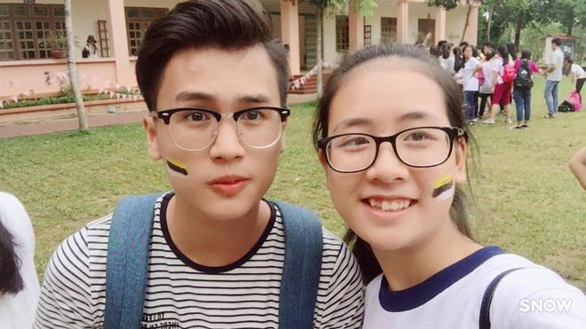 Vườn sao băng đời thực: Nữ sinh Lào Cai lọt thỏm giữa 4 chàng bạn thân đẹp trai, học giỏi, mê bóng rổ - Ảnh 8.