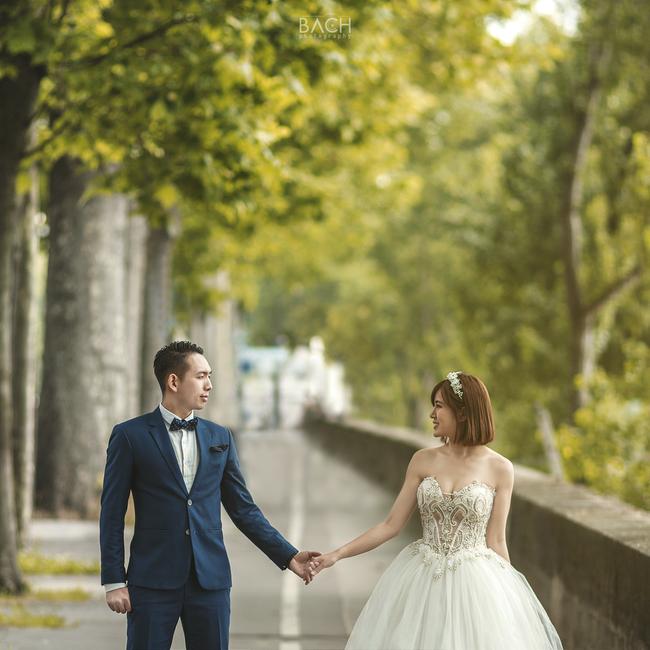 Tú Linh M.U khoe ảnh cưới cực hạnh phúc và lãng mạn được chụp ở 3 nước - Ảnh 9.