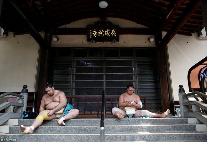 Vén màn cuộc sống của các đấu sĩ sumo tinh nhuệ tại Nhật Bản: Nạp 8.000 calo/ngày, phải thở bằng máy oxy khi ngủ - Ảnh 9.