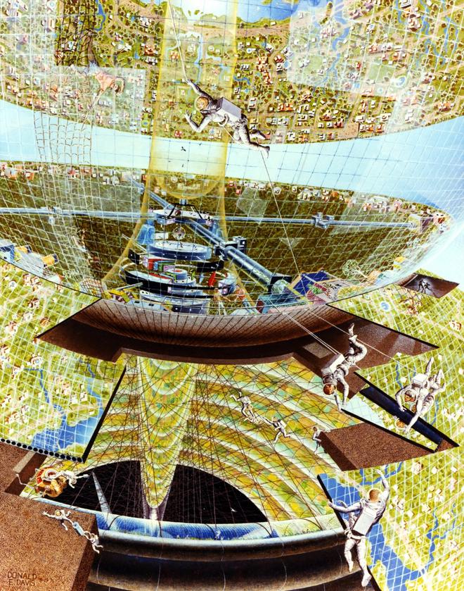 NASA đã từng có ý tưởng xây dựng thành phố ngoài vũ trụ như trong bộ phim Interstellar - Ảnh 9.