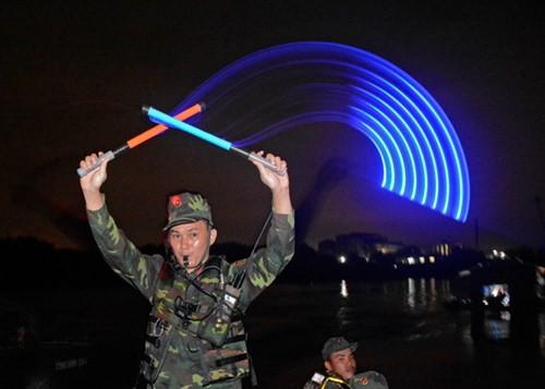 Bảo đảm vượt sông trong diễn tập chiến thuật - Ảnh 9.