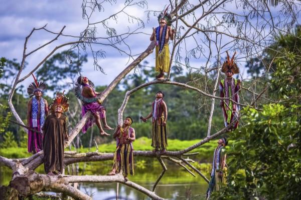 Hé lộ cuộc sống bí ẩn của thổ dân trong rừng rậm Amazon - Ảnh 9.