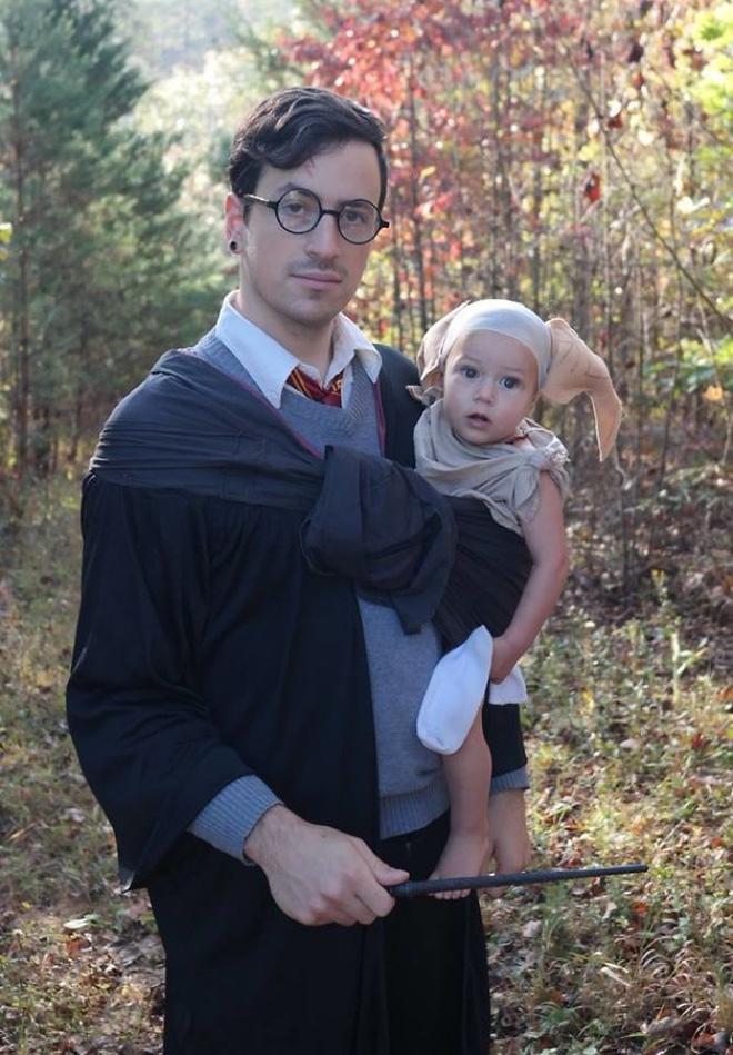 Mùa Halloween có hóa trang dị tới mấy cũng phải chào thua 17 gia đình bá đạo này - Ảnh 11.