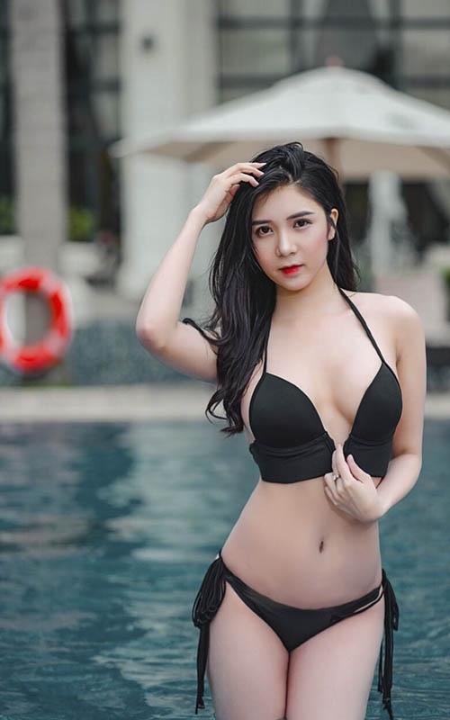 Bạn gái Phan Hải gây tranh cãi khi toàn mặc hở hang trong phim Người phán xử - Ảnh 12.