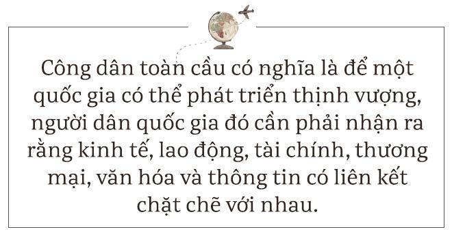 Tiến sỹ Mỹ: Tôi thấy vô vàn cơ hội để người Việt trở thành công dân toàn cầu - Ảnh 3.