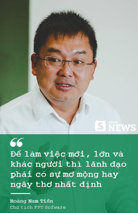 """Chủ tịch FPT Software Hoàng Nam Tiến: """"Nếu cứ phân tích SWOT như các bạn Tây thì không công ty Việt Nam nào dám bước ra khỏi biên giới"""" - Ảnh 7."""