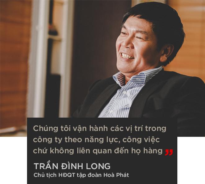 """Ông Trần Đình Long: """"Chúng tôi thành công như hôm nay vì không biến Hòa Phát thành một tập đoàn họ hàng"""" - Ảnh 10."""