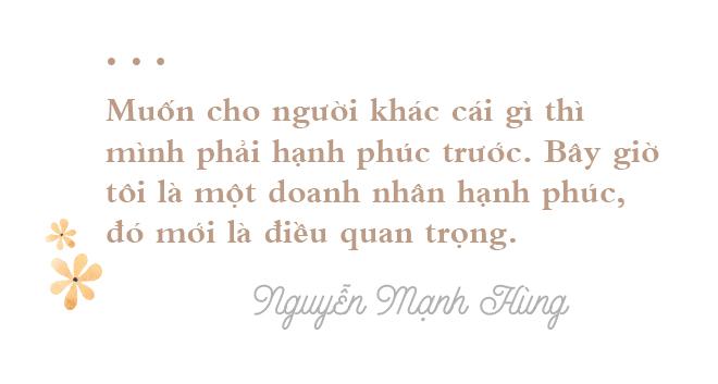 TS Nguyễn Mạnh Hùng: Từ triệu phú đôla tuổi 26 đến người đàn ông hạnh phúc không nhờ tiền bạc - Ảnh 15.