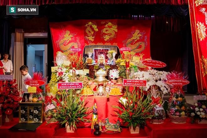 Các nghệ sỹ nổi tiếng Sài Gòn tổ chức lễ cúng Tổ nghề - Ảnh 4.
